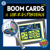 BOOM CARDS: DIGITAL TASKS ACTIVITIES 1:1 CORRESPONDENCE