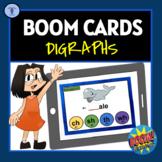 BOOM CARDS: DIGRAPH DIGITAL TASK ACTIVITIES