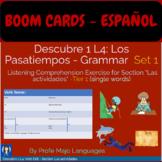BOOM CARDS: Descubre 1 L4 Set 1 for Las Actividades (Gramm