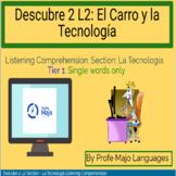BOOM CARDS: Descubre 2 L2 - La tecnología Vocabulary - Lis