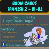 BOOM CARDS: Descubre 2 L3: Set 3 Los quehaceres con verbos