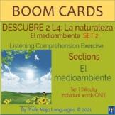 BOOM CARDS: Descubre 2 L4 - El medioambiente - Set 2 (List