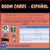 BOOM CARDS: Descubre1 L4 - Set 2 Stem changing verbs (List