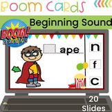 BOOM CARDS Digital Beginning Sounds Activity   Long A