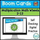 BOOM CARDS Digital Self Checking Multiplication Wheels Rings