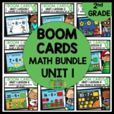BOOM CARDS Distance Learning BUNDLE 2nd Grade Module 1