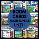 Kindergarten BOOM CARDS Distance Learning BUNDLE Module 1