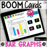 BOOM CARDS Distance Learning - Data Analysis Bar Graphs