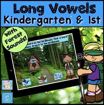 Vowel Teams Game Kindergarten First BOOM CARDS READING