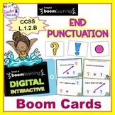 Digital Boom Cards GRAMMAR 1st Grade END PUNCTUATION IN SENTENCES
