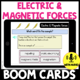 Electric and Magnetic Forces Vocabulary Quiz BOOM CARDS: U