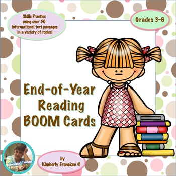BOOM CARDS: End of Year Reading Review