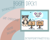 BOOM CARDS - Ending Sound Match