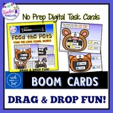 BOOM CARDS PHONICS Feed The Pets LONG VOWELS
