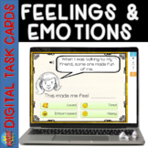 BOOM CARDS Identifying Feelings and Emotions Speech Autism