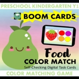 BOOM CARDS™ Food Color Matching