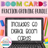 BOOM CARDS Fraction Growing Bundle