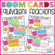 BOOM CARDS Fraction Growing Bundle