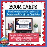 BOOM CARDS - Fundamentals of the Civil War