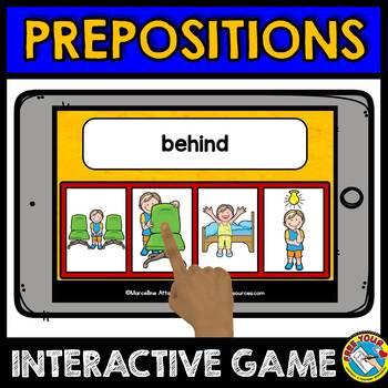 BOOM CARDS OF GRAMMAR GAMES (VERBS, PREPOSITIONS, PARTS OF SPEECH, ANTONYMS)
