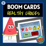 BOOM CARDS: HEALTHY CHOICES DIGITAL TASK ACTIVITIES