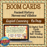 BOOM CARDS - Heroes and Villains of the Ancient History  |