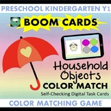BOOM CARDS™ Household Objects Color Matching