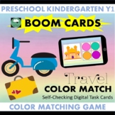 BOOM CARDS™ Travel Color Matching