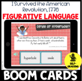 BOOM CARDS I Survived the American Revolution Figurative L