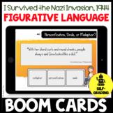 I Survived the Nazi Invasion, 1944 Figurative Language Quiz Activity BOOM CARDS