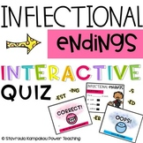 BOOM CARDS INFLECTIONAL ENDINGS INTERACTIVE QUIZ -DISTANCE