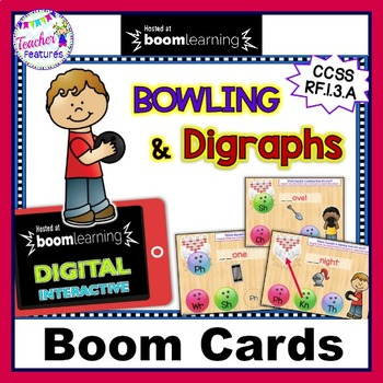 BOOM CARDS Phonics INITIAL DIGRAPHS