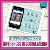 BOOM CARDS Inferences   Spring Activities   Speech Therapy   Language