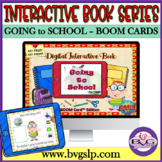 BOOM CARDS Interactive Book Series Back to School