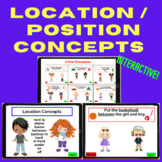 BOOM CARDS:  Interactive Location / Position Concepts