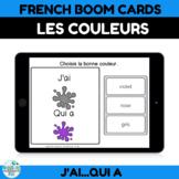 BOOM CARDS les couleurs en français