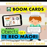 BOOM CARDS™ Kitchen Vocabulary Game in TE REO MAORI (Set 1)
