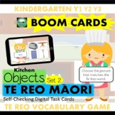 BOOM CARDS™ Kitchen Vocabulary Game in TE REO MAORI (Set 2)