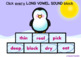 BOOM CARDS LONG VOWEL SOUNDS with Polar Bears and Penguins