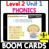 Level 2 Unit 1 FUNdamentally Differentiated Digital BOOM CARDS