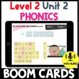 Level 2 Unit 2 FUNdamentally Differentiated Digital BOOM CARDS