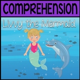 BOOM CARDS: Livvy the Mermaid (Story & Questions)