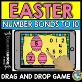 BOOM CARDS MATH APRIL (NUMBER BONDS TO 10 GAMES) EASTER AC