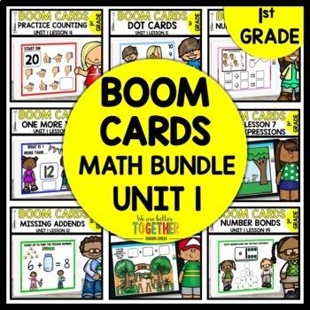 BOOM CARDS MATH BUNDLE   DIGITAL TASK CARDS   MODULE 1