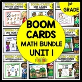 BOOM CARDS DISTANCE LEARNING| MATH BUNDLE | DIGITAL TASK C