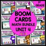 1st Grade Boom Cards Math Bundle | Digital Task Cards Module 4