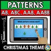 BOOM CARDS MATH CENTER (PATTERNING CHRISTMAS ACTIVITY KIND
