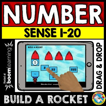 BOOM CARDS MATH KINDERGARTEN ACTIVITY (NUMBER SENSE TO 20 IPAD GAMES)