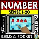 BOOM CARDS MATH KINDERGARTEN ACTIVITY (NUMBER SENSE TO 20