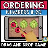 BOOM CARDS MATH (SPRING ACTIVITY KINDERGARTEN) ORDERING NUMBERS CENTER)